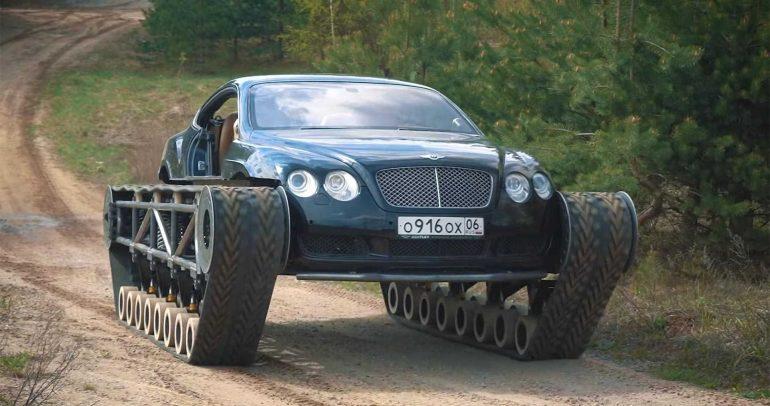 بنتلي كونتينيتال GT تتحول إلى …. دبابة !!!