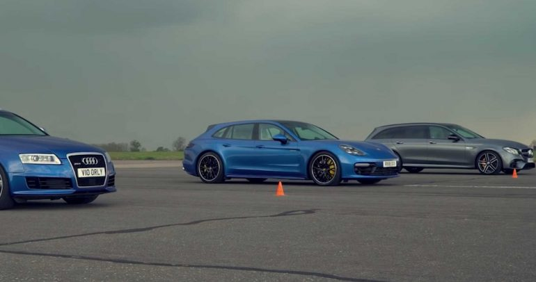 مرسيدس-بنز E63 S AMG تواجه كلا من أودي RS6 وبورشه باناميرا تيربو S الهجينة