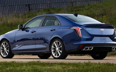 أبرز ميزات سيارة كاديلاك CT4-V للعام 2020