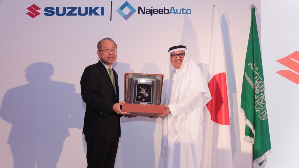 نجيب أوتو.. الوكيل الرسمي لعلامة سوزوكي في السعودية