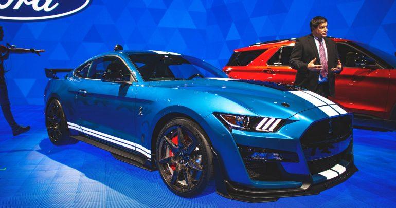شركة فورد تكشف ناتج القوة الفعلي لمحرك موستانج شيلبي GT-500