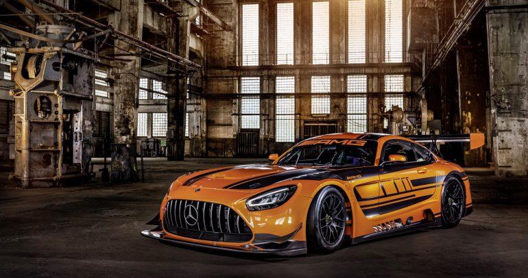 مرسيدس-بنز AMG GT3 بتحسينات عديدة لمنافسة أفضل