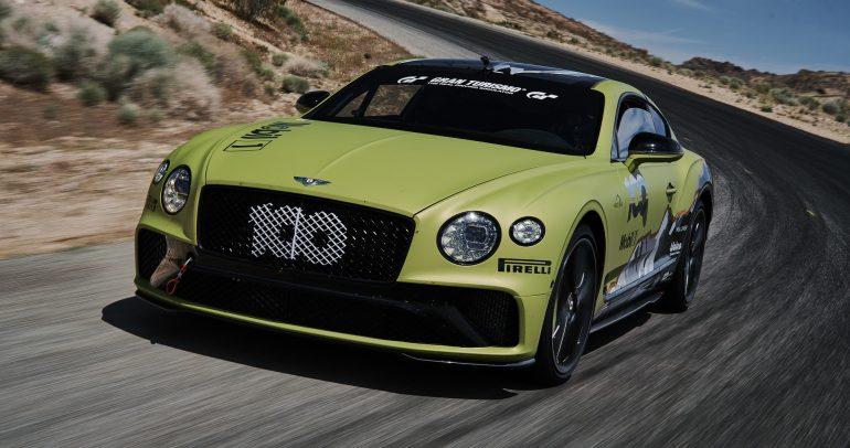 بنتلي كونتينينتال GT W12 تسعى لتحطيم رقم قياسي جديد في بايكس بيك