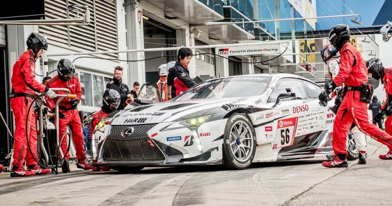 لكزس LC تحصد المركز الأول في سباق نوربورغرينغ للتحمل 24 ساعة