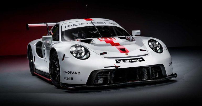 بورشه 911 RSR الجديدة من إحدى الخيارات المناسبة للسباقات