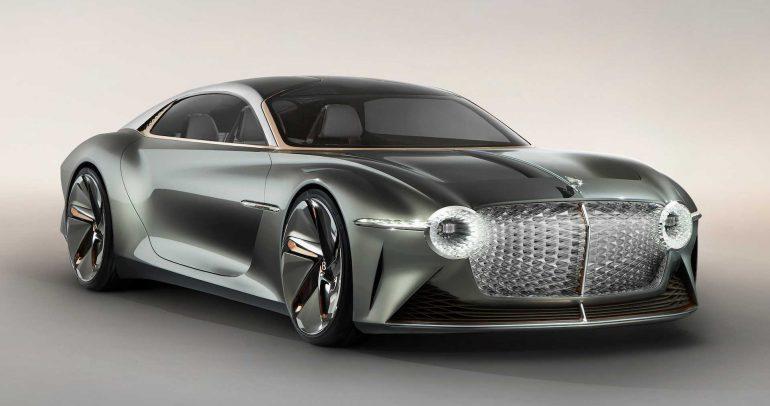 بنتلي EXP 100 GT لإستعراض التوجه المستقبلي للعلامة
