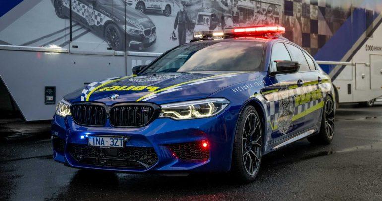 بي ام دبليو M5 كوميتشن تنضم للشرطة الأسترالية