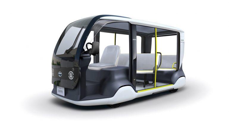 تويوتا APM إحدى وسائل النقل لدورة الألعاب الأولمبية القادمة