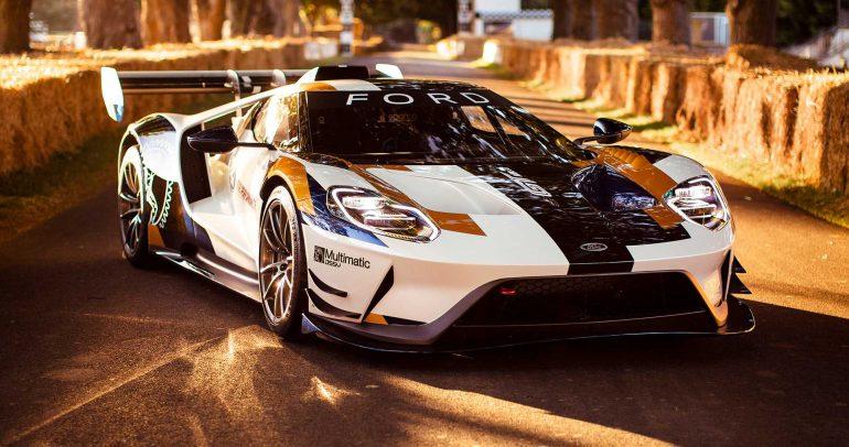 فورد GT MK2 تتألق في مهرجان جوودوود للسرعة