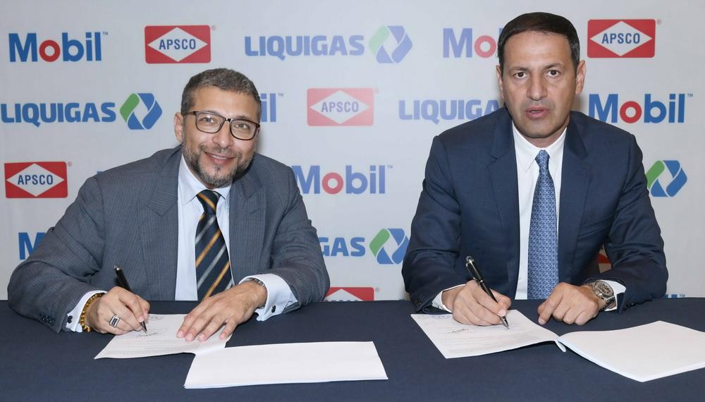 تعاون بين شركتي أبسكو السعودية و ليكويغاز اللبنانية