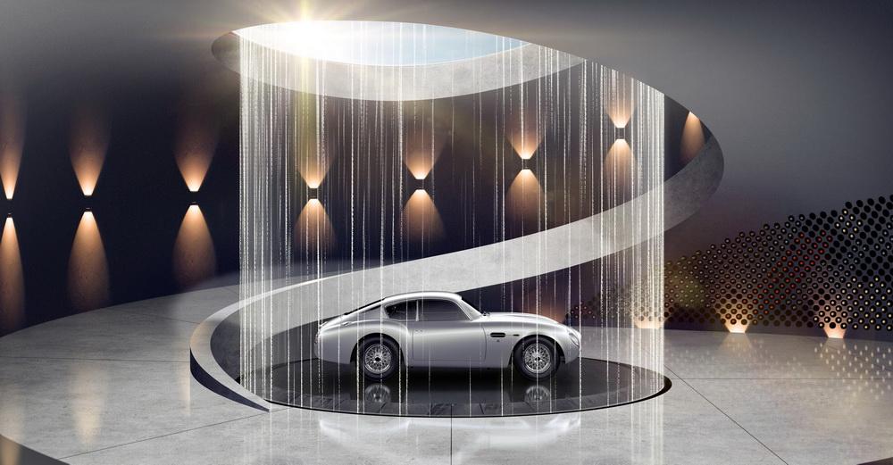 خدمات تصميم أفضل مواقف السيارات من أستون مارتن