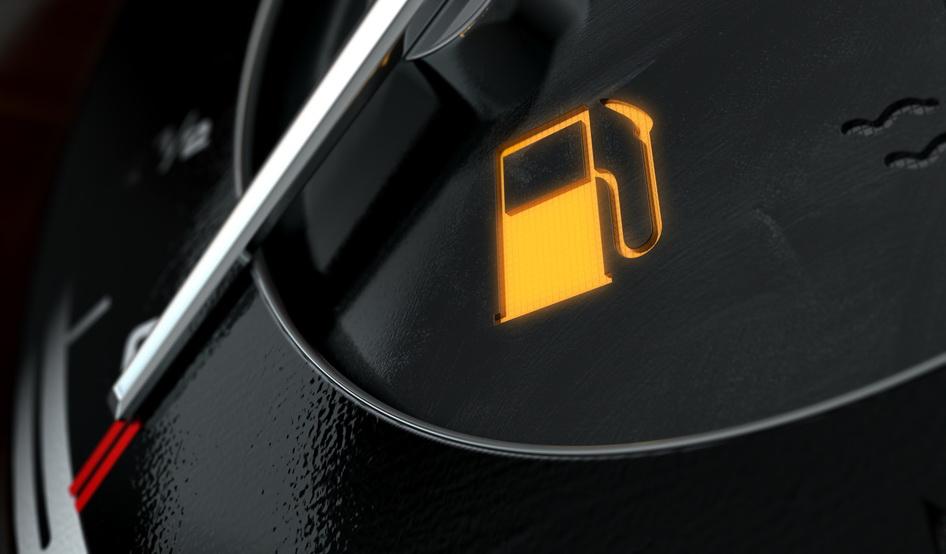 ما تحتاج إلى معرفته عن إشارة التحذير من انخفاض معدل الوقود