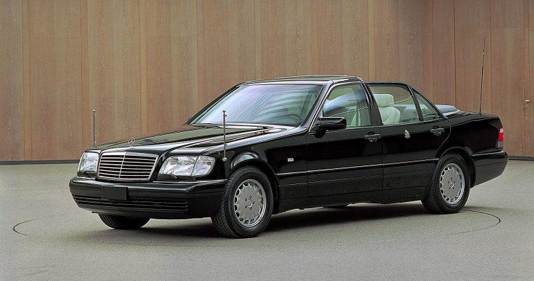 مرسيدس-بنز الفئة S طراز W140 : أناقة كلاسيكية مميزة لا تبهت مع الزمن