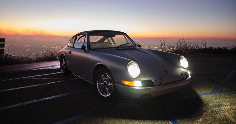 بورشه 912 الكلاسيكية تحصل على محرك كهربائي .. من تسلا