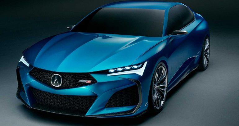 أكيورا تايب S الإختبارية تعكس التصور المستقبلي لسيارات الصالون