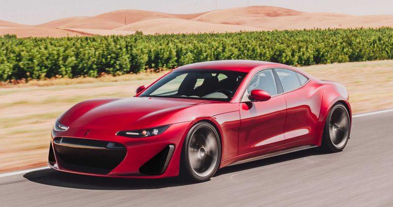 دراكو GTE السيارة الخارقة الكهربائية الجديدة