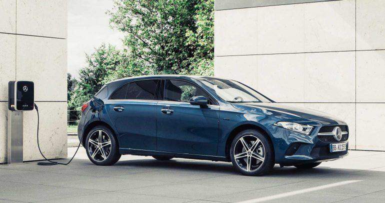 مرسيدس-بنز A250e للمزيد من توفير الوقود بجانب الأداء المميز