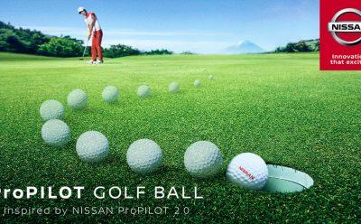 تكنولوجيا ProPILOT من نيسان تصل إلى كرة الغولف!