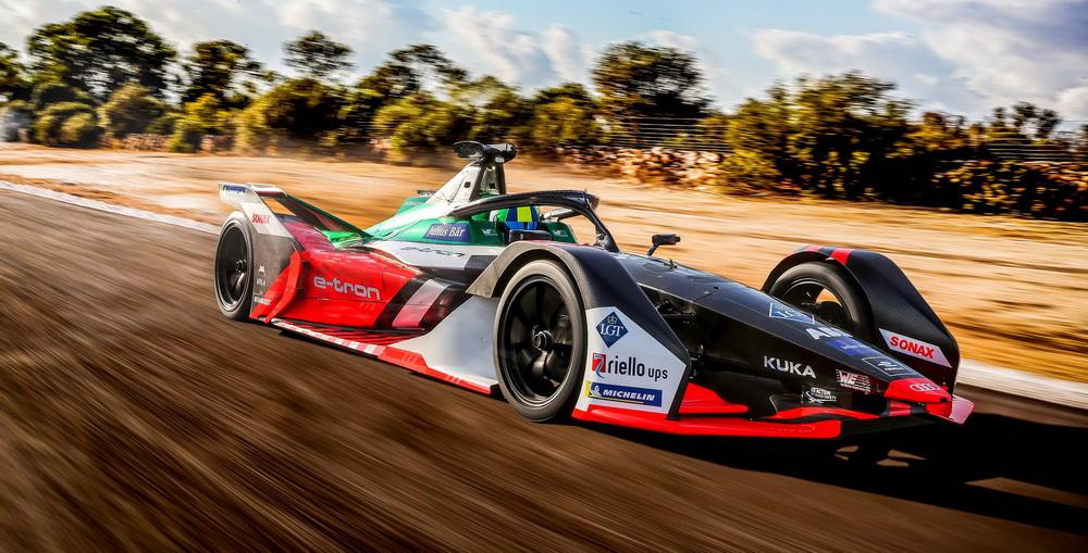 سيارة أودي e-tron FE06 بإطلالة رياضية جديدة