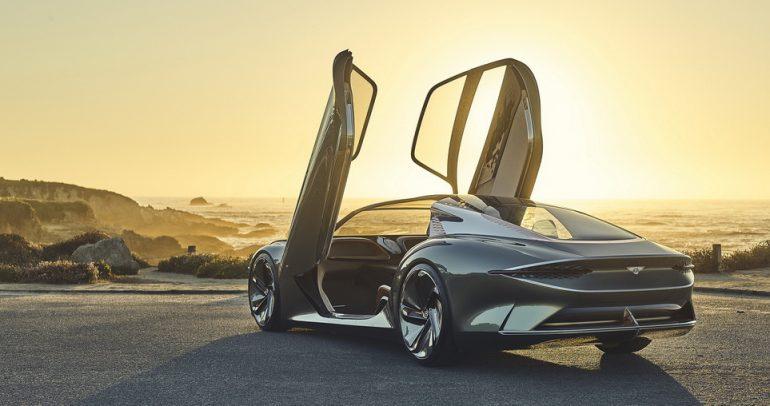صور مميزة لسيارة بنتلي EXP 100 GT الجديدة