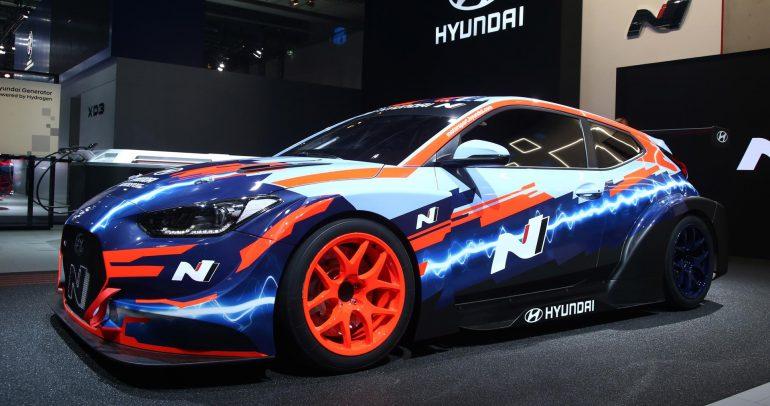 هيونداي فيلوستر N ETCR سيارة السباق الكهربائية من هيونداي