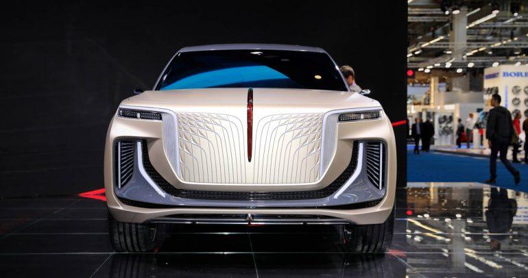 هونكوي E115 سيارة الدفع الرباعي الكهربائية الفارهة القادمة من الصين