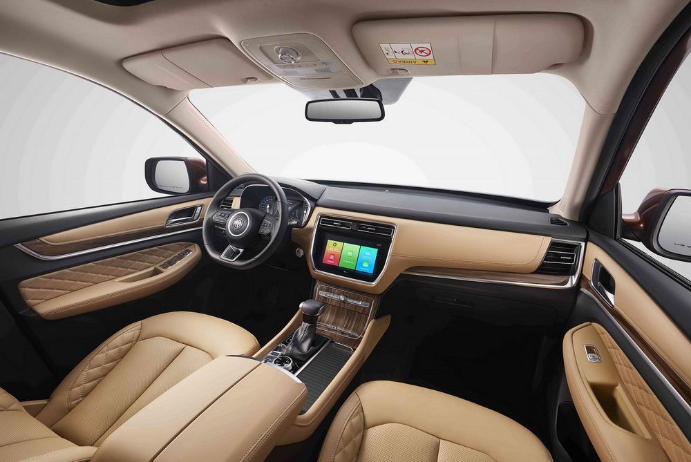 إم جي RX8 الجديد: أول مركبة SUV بسبعة مقاعد من الشركة