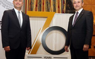 الذكرى السنوية السبعين للشراكة مع بريجستون في السعودية