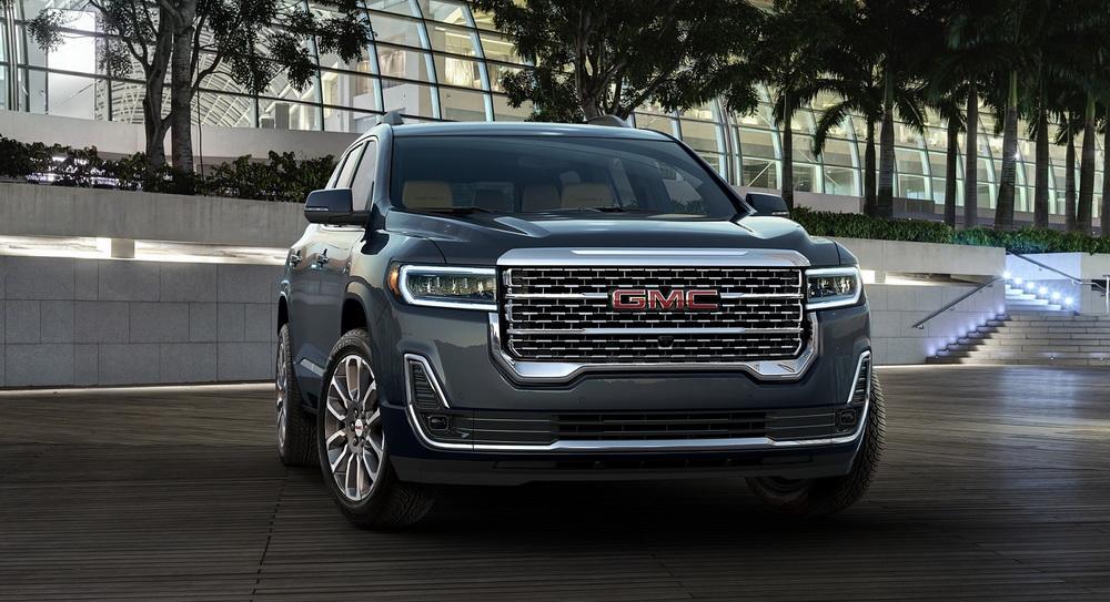 جي ام سي أكاديا 2020 في معرض دبي الدولي للسيارات