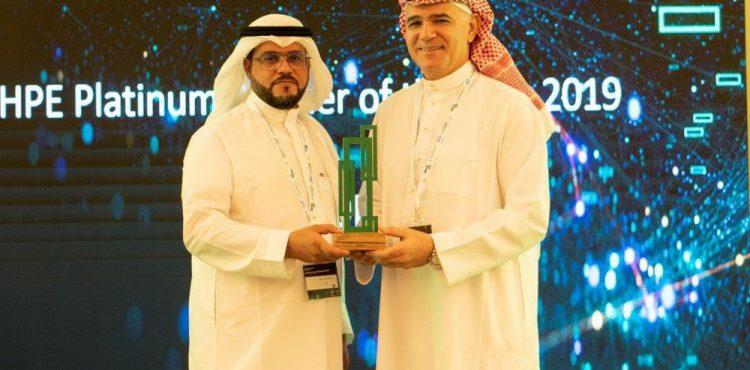 ناتكوم تحصل على جائزة الشريك المتميز من HPE