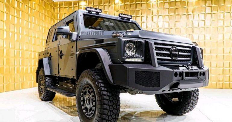 مرسيدس-بنز G 500 جروما بتصميم مميز للهيكل الخارجي