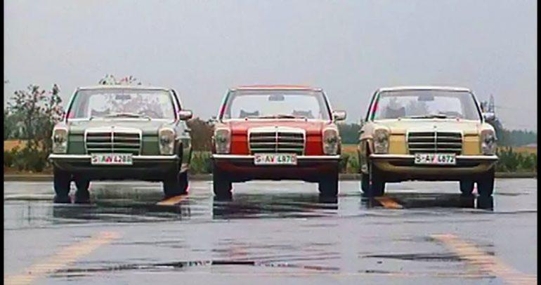 مرسيدس-بنز الفئة E طراز W114/W115 : سيارة تأبى التقاعد