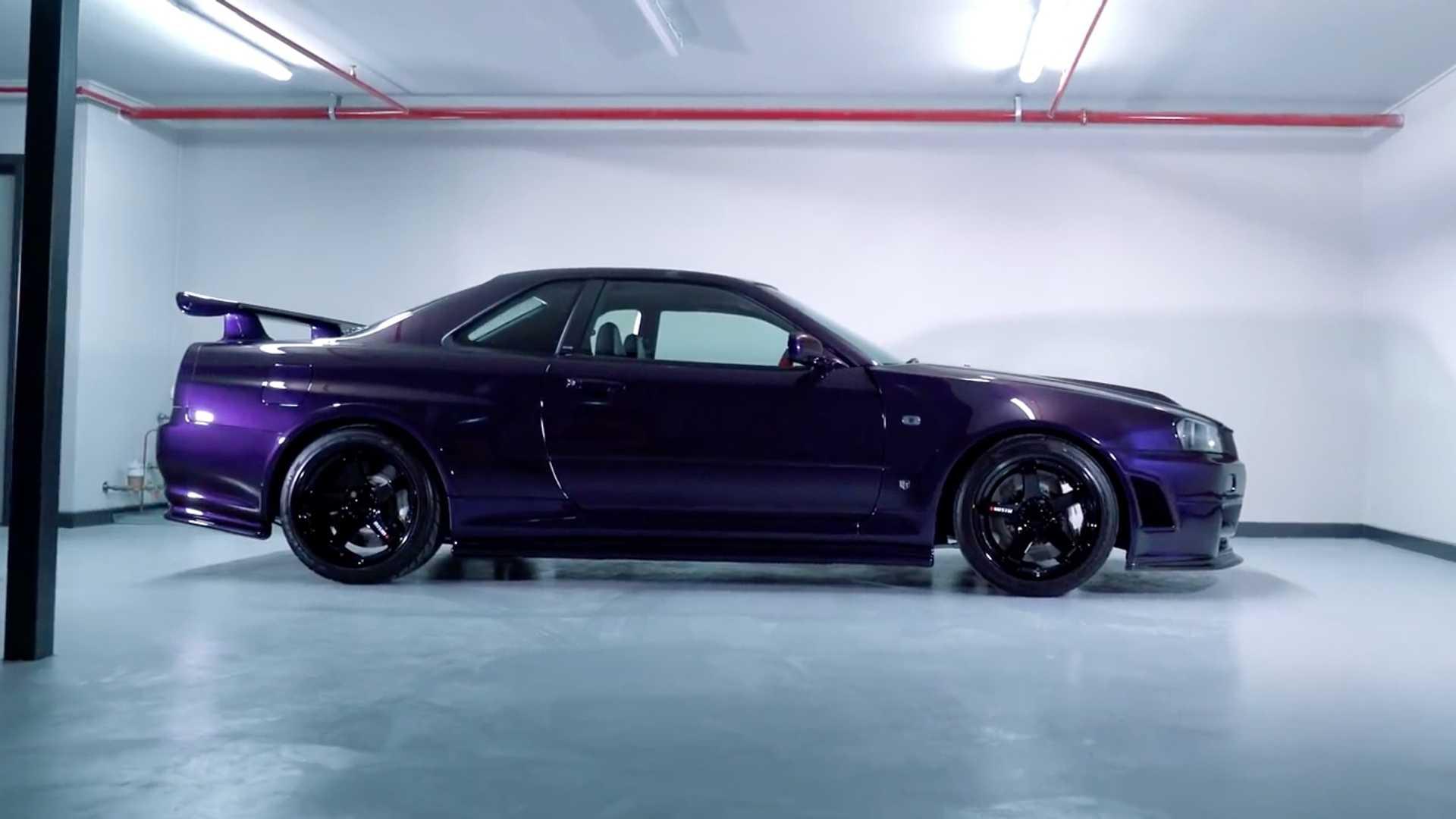 سكايلاين GT-R R34