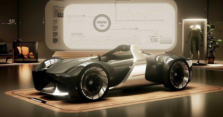 تويوتا e-racer الإختبارية : مستقبل السيارة الرياضية