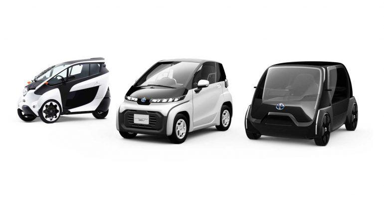 تويوتا BEV الكهربائية المدمجة أصغر سيارات تويوتا