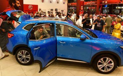إطلاق طراز MG HS الجديد كليا في السوق السعودي