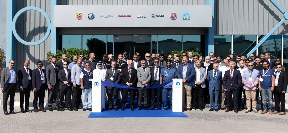 منشأة متطورة جدا من مجموعة فيات كرايسلر للسيارات في دبي
