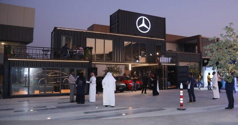 وكيل مرسيدس في المملكة يرعى الأسبوع السعودي للتصميم