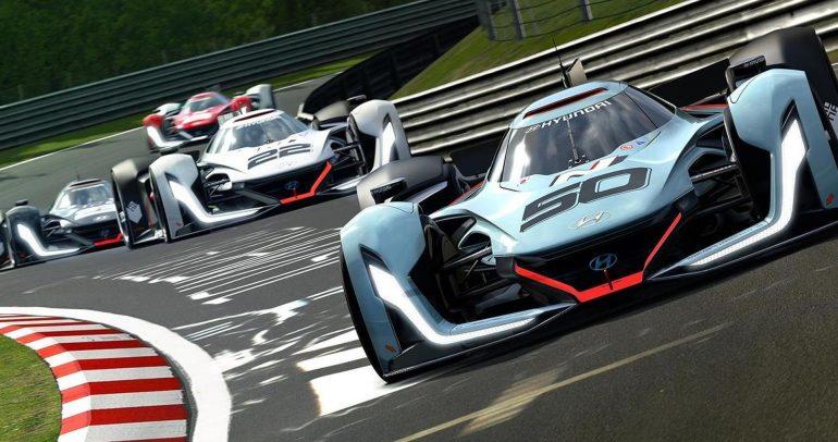 هيونداي N فيجن GT : السيارة الإفتراضية الثورية من هيونداي