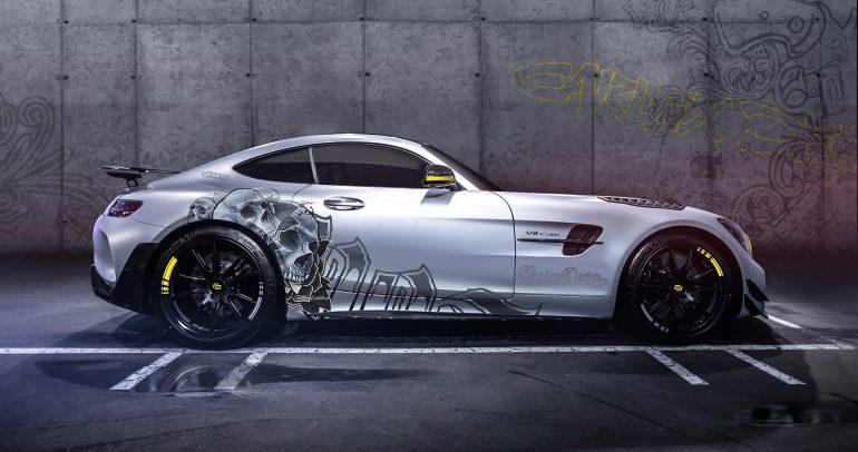 مرسيدس-بنز AMG-GTR برو بمقصورة معدلة للمزيد من الأناقة