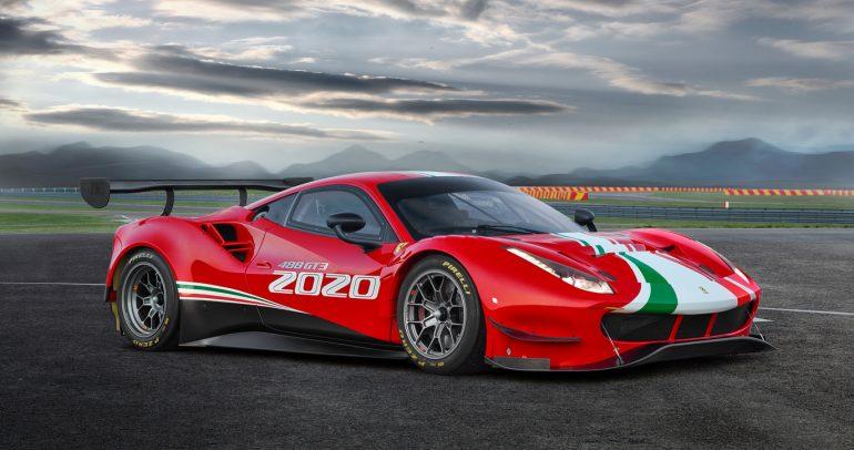 فيراري 488 GT3 إيفو قادمة لسباقات 2020