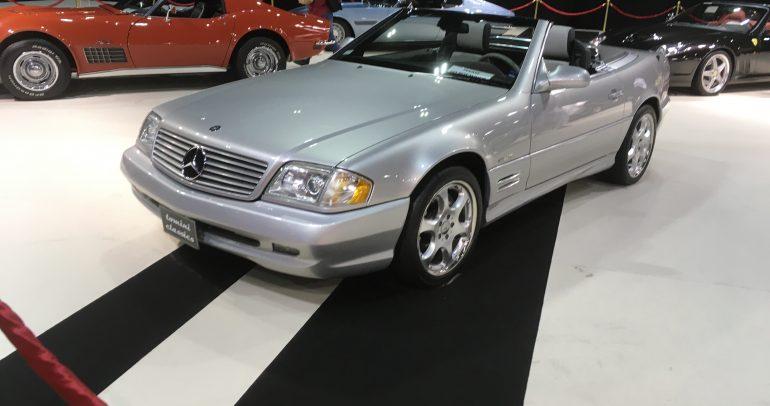 السيارات الكلاسيكية التي تألقت في معرض دبي الدولي للسيارات 2019