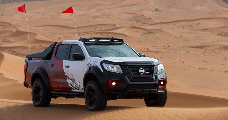 نيسان نافارا غزال الجديدة: رشاقة وقوة على رمال الصحراء