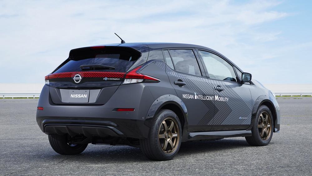 سيارة اختبارية عالية الطاقة بتقنيات متقدمة من نيسان