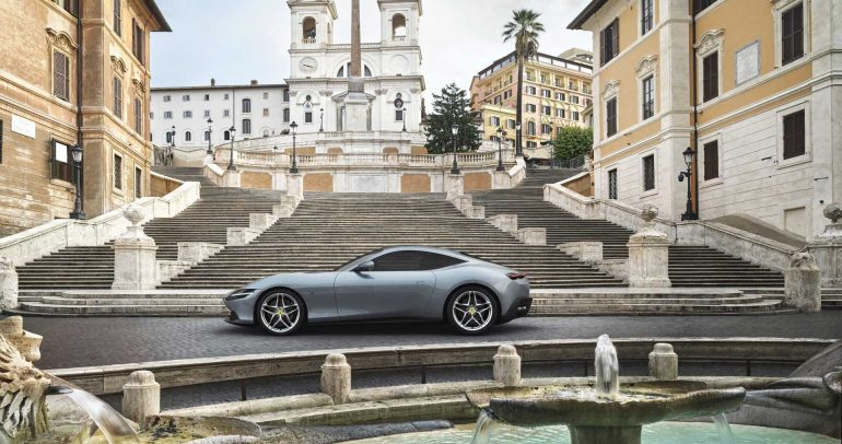 فيراري روما الجديدة : روح الماضي بقالب عصري مميز