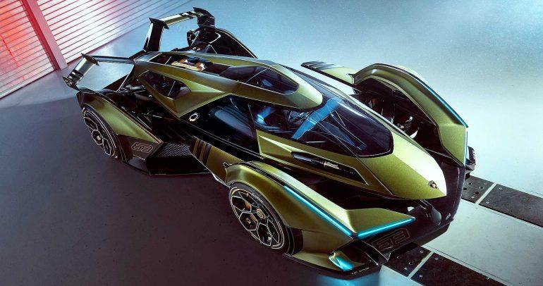 لامبورجيني V12 فيجن GT : سيارة إفتراضية ذات أداء خارق