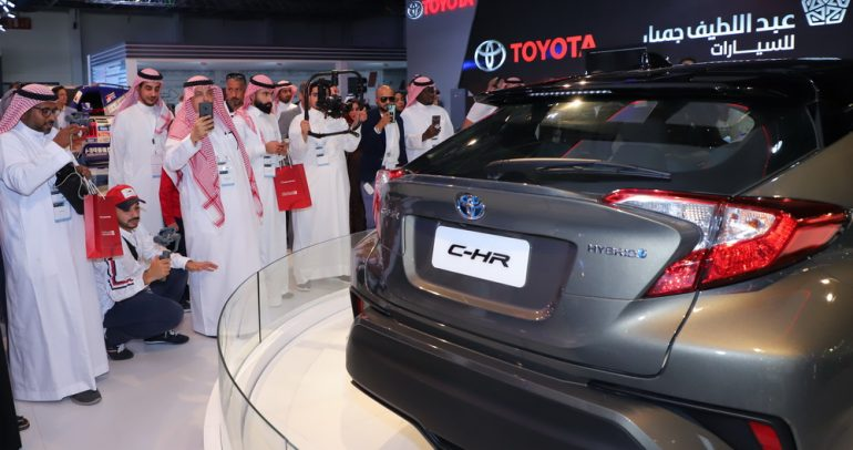 أحدث موديلات تويوتا لعام 2020 في المعرض السعودي
