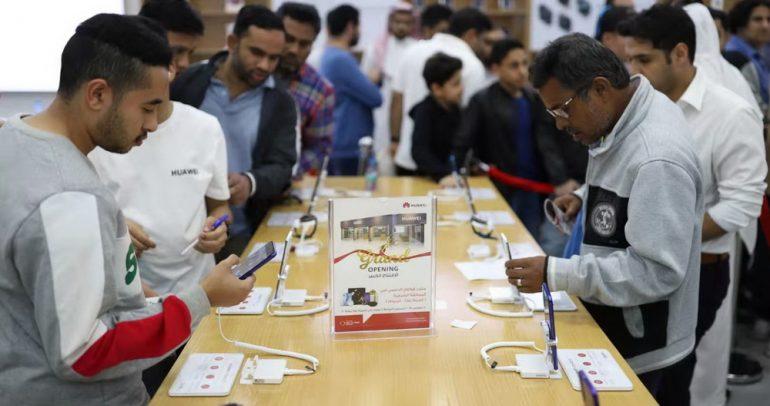 افتتاح أكبر متاجر هواوي في المنطقة الشرقية بالسعودية