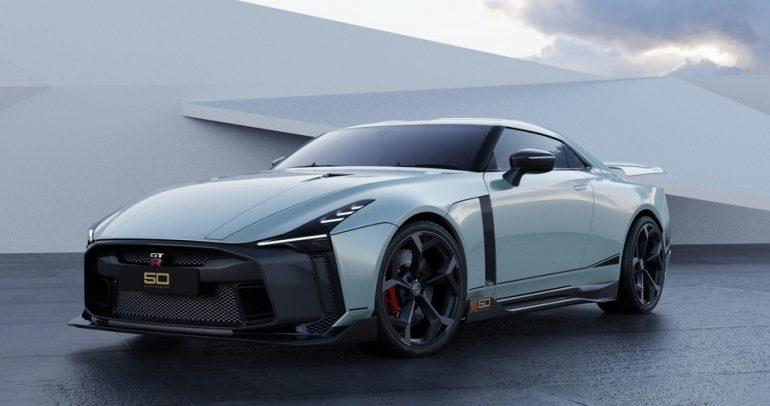 الطراز الأول من نيسان GT-R50 من تصميم Italdesign
