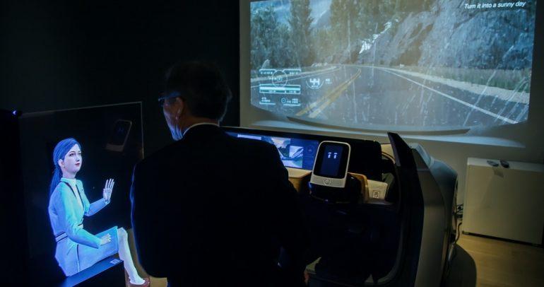 عرض تقنية I2V من نيسان بشكل فني